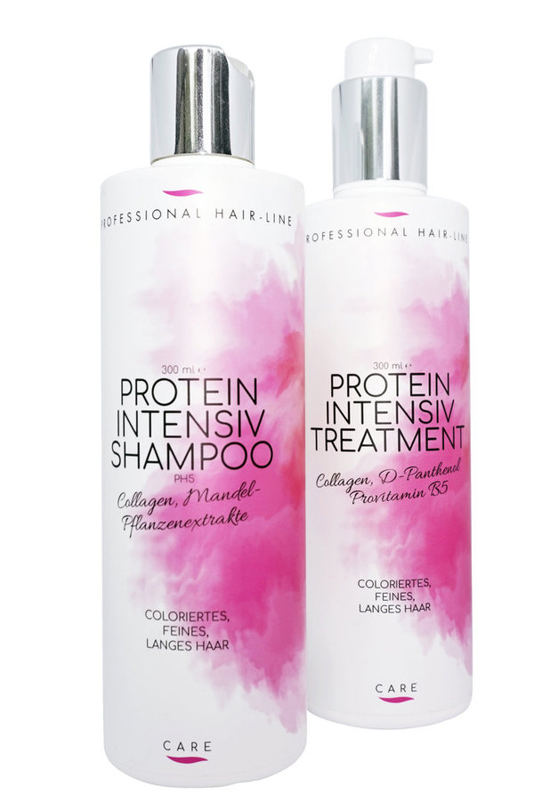 Protein Intensiv Shampoo und Treatment -  2 x 300 ml
