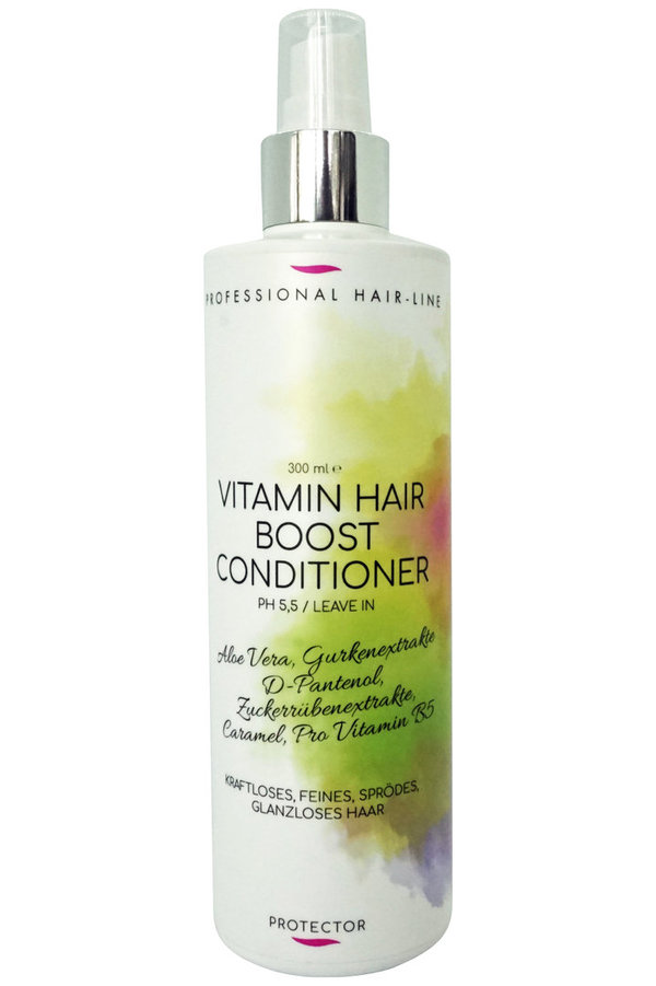"Vitamin Hair Boost -Leave-In- Conditioner  ""kraftloses, glanzloses Haar, Protector""   300 ml"